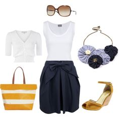 ....I would wear this in the summer....although, i'm not sure about the fit of that cardigan...i'd do something more 'drapy'..