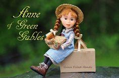 Anne of Green Gables Doll Bratz make under makeover repainted Bratz doll . Etsy shop Grace Filled Hands https://www.etsy.com/shop/GraceFilledHands