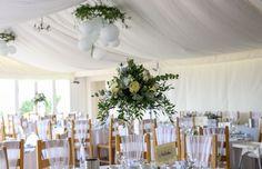 Marquee Wedding, Barn Wedding Venue, Rustic Wedding, Wedding Reception, Wedding Set Up, London Wedding, Outdoor Ceremony, Table Decorations, Home Decor