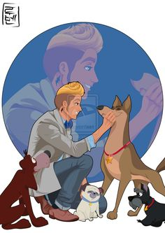 Disney University Student - Bolt. He is studying drama. He loves movies and TV shows like CSI, 24, Agents of S.H.I.E.L.D. He is brave, kind, funny and a little impulsive. Usually works with Pocahontas and her friends at the animal shelter.