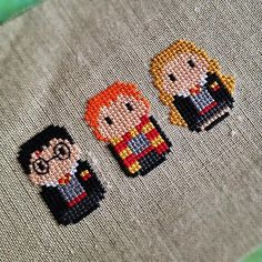 Looking for embroidery project inspiration? Check out Harry Potter cross stitch by member cloudsfactory.