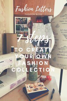 Fashion Letters : Como crear tu propia colección de moda / Episodio1...