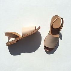 Anntorian handmade leather sole shoes
