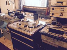 Ampex 440c, Studer A827, Fairchild 523 disc cutter