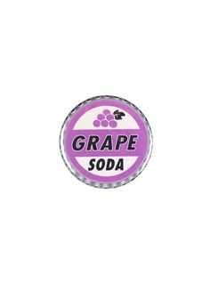 1 inch 25mm Button Badge GRAPE SODA design Novelty Cute Up!