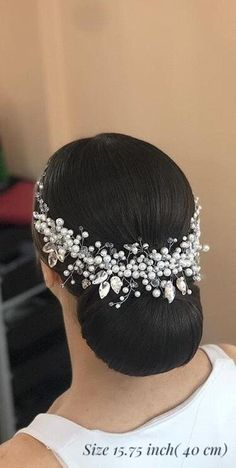 Bridal hair accessories Bridal hair piece Rose gold Wedding hair vine Wedding hair pieces Bridal hair comb Bridal headpiece Wedding tiara - Hairstyles For All Natural Hair Wedding, Elegant Wedding Hair, Wedding Hair Pieces, Wedding Hair And Makeup, Gold Wedding, Bridal Hair Updo, Bridal Hair Vine, Headpiece Wedding, Bridal Headpieces