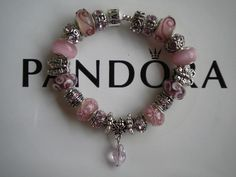 My Pandora Embossed Bracelets that I make and sell for $125. The bracelets are silver plated and embossed with pandora and 925 Silver. The Murano Glass beads are of High Quality and all have silver cores. The charms are 925 silver, antique silver and silver plated. You can see all of my bracelets on ebay, just click this link> http://www.ebay.com/sch/gingersgems2011/m.html?item=300686462430=STRK%3AMESELX%3AIT&_trksid=p3984.m1555.l2649&_trksid=p4340.l2562