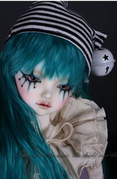 Peak's Woods Blue Clown @ Denver Doll Emporium