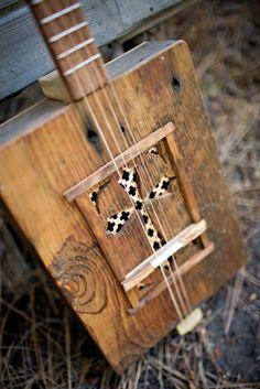 Kochel Box Guitar Handmade Cigar Box Guitar Blues by KochelGuitars