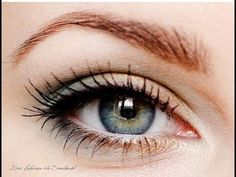 Дневной нежный * Макияж * для серо-голубых глаз  Пошаговый