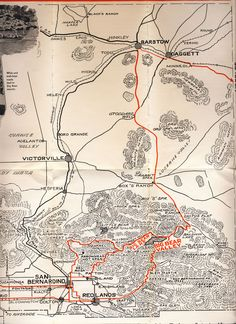 Old Miners Days Map.