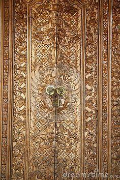 carved balinese door & Tamu Seseh \u003e Canggu \u003e Bali Hotel and Bali Villa | Garden projects ... Pezcame.Com