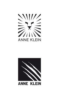 Propuestas de rediseño del logotipo de la marca Anne Klein.