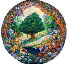 The garden of eden the brothers hildebrandt jewish pinterest biblical art and commercial art for Garden of eden tattoo