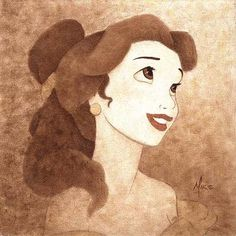 Belle - my fave Disney Princess b/c she wasn't a damsel in distress nor did she need a man to save her. Homegirl fought her own battles, was beautiful, AND smart :). Best cartoon role model ever! Ha :)