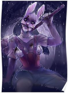 Huntress from Dead by Daylight - I like the rain and atmosphere alot! Halloween Tumblr, Anime Halloween, Halloween Outfits, Character Costumes, Comic Character, Horror Art, Horror Movies, Chica Gato Neko Anime, Dark Souls