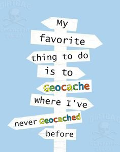 My favorite thing to do is to Geocache where I've never Geocached before. - Treasure Hunting with a GPS - Yorgo Geocaching, Scavenger Hunt Games, Scavenger Hunt Birthday, Funny Animal Photos, Great Hobbies, Sports Humor, Outdoor Fun, True Stories, Things To Do