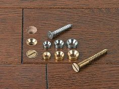 Countersunk washers - Lee Valley Tools