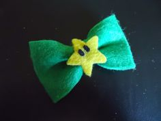 Little Miss Pinny: Star Power Bow Tutorial (For Mario and Luigi Pinafores)