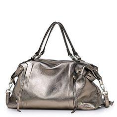 HB700113C1 Genuine Leather European And American Style Women's Handbag,Dumplings Type Dumplings *** Learn more by visiting the image link.