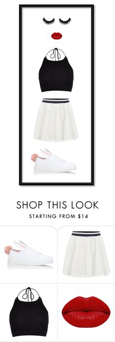 """""""Sporty Girly Look"""" by stylishnut ❤ liked on Polyvore featuring Minna Parikka, ONLY, River Island and Winky Lux"""