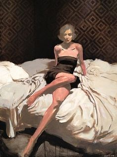 Michael Carson / Painted Myself Into a Corner / Oil on canvas, 40 x 30 cm