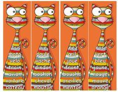 Jeux et ateliers de vocabulaire - L'école de Crevette