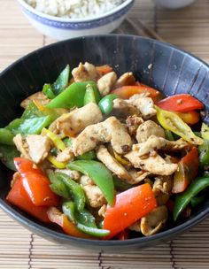 Season with Spice - an Asian Spice Shop: Stir-Fried Chicken with Chinese Garlic Sauce