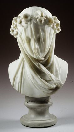 """centuriespast: """" Veiled Lady ARTIST:Raffaelo Monti DATE:c. 1860 Minneapolis Institute of Arts """" Can we pause for two seconds to realize the prodigious amount of skill that must have been required to make this?"""