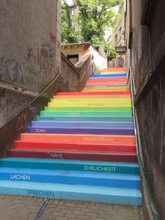 Holsteiner Treppe, Wuppertal. Click image to tweet and visit the Slow Ottawa boards >> https://www.pinterest.com/slowottawa/