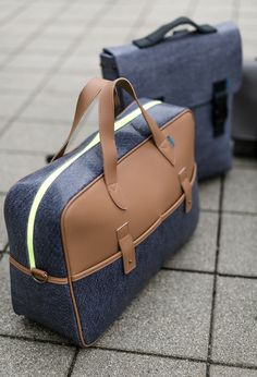 A clean, architecturally-inspired design AND 100% eco-friendly material...Meet M.R.K.T. Bags.