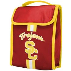 NCAA USC Trojans Velcro Lunch Bag by Forever Collectibles. $11.99. USC Trojans Velcro Lunch Bag