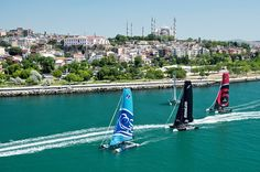 TURQUIA: Acto 6 de las Extreme Sailing Series 2014 en Estambul.