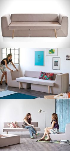 Sofista Modular Sofa - great idea. too bad its not made in the US