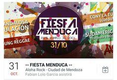 Atención Mendoza!!! Éste Sábado tenemos el honor de tocar en #LaFiestaMenduca! + info https://www.facebook.com/events/928981133846518/