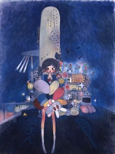 Aya TAKANO Hoshiko the city child 2006