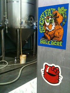 Hello Wars - Royal Kitty at Half Acre Beer headquarters