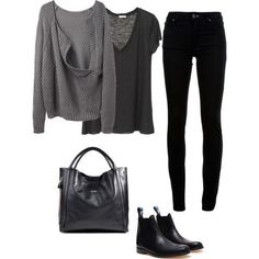 winter outfits with ankle boots