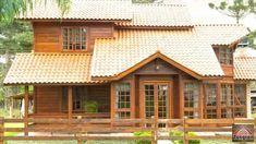 Casas Tangran - Sua Legítima Casa De Madeira!