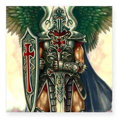 Archangel Uriel Square Sticker 3