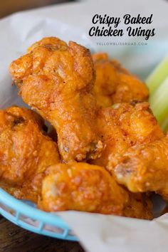 BEST EVER Crispy Baked Chicken Wings with Buffalo Sauce They are perfect for game day parties too! BEST EVER Crispy Baked Chicken Wings with Buffalo Sauce They are perfect for game day parties too! Crispy Baked Chicken Wings, Baked Chicken Wings Buffalo, Crispy Baked Wings, Chicken Wings In Oven, Oven Baked Wings, Chiken Wings, Wings In The Oven, Chicken Legs, Homemade Buffalo Sauce