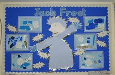 Jack Frost classroom display photo from Carol.