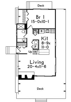 Vacation Home Plan First Floor - 008D-0139   House Plans and More Unique A-Frame Grantview A-Frame Home