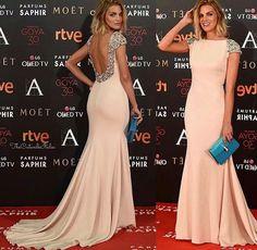 Pronovias dresses actresses Amaia Salamanca and Aura Garrido for the Goya Awards! Oscar Dresses, Gala Dresses, Event Dresses, Nice Dresses, Formal Dresses, Pronovias Dresses, Satin Formal Dress, Mode Simple, Elegant Outfit