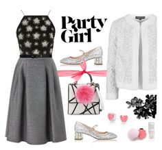 """""""Yay! It's Galentine's Day"""" by ana3blue ❤ liked on Polyvore featuring Les Petits Joueurs, Miu Miu, Phase Eight, 100% Pure, Topshop, Lauren Ralph Lauren, Bling Jewelry, women's clothing, women and female"""