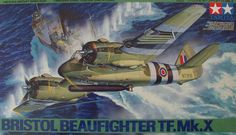 Tamiya - Scale Bristol Beaufighter TF MkX, scale model, plastic kit, scale models and accessories Ww2 Aircraft, Military Aircraft, Plastic Model Kits, Plastic Models, Bristol Beaufighter, Tamiya Models, Thing 1, Royal Air Force, Aviation Art