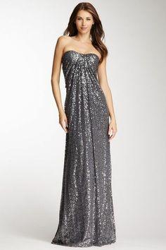 Sparkling Silver Dress.
