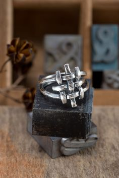 Jerusalem Cross Ring – Holly Lane