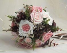 bridal flower wedding flower paper flower by FlowerDecoration