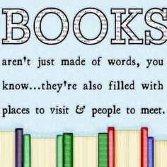 O poder dos livros só está acessível a quem os lê!